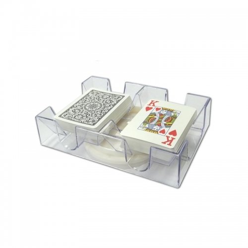 2 Deck Revolving Card Tray