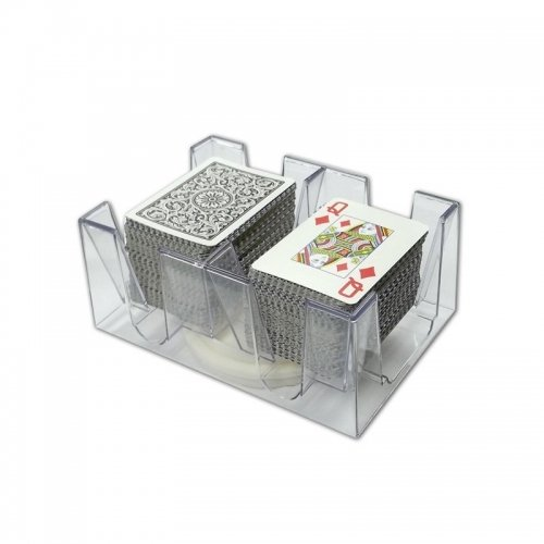 6 Deck Revolving Card Tray