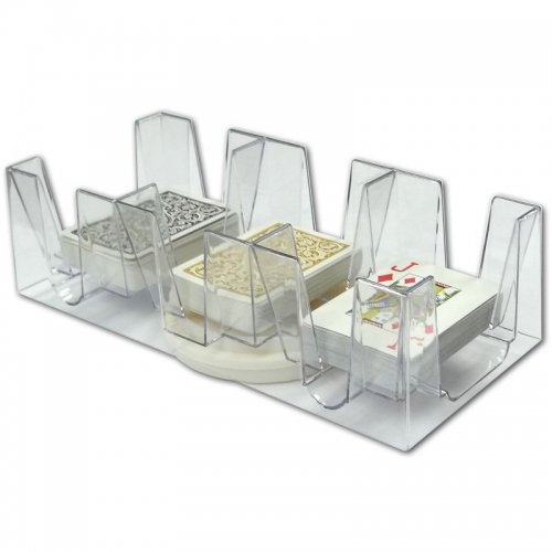 9 Deck Revolving Card Tray