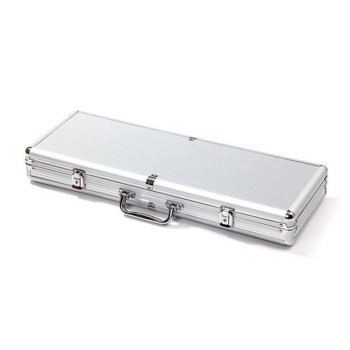 Aluminum poker chip case 500