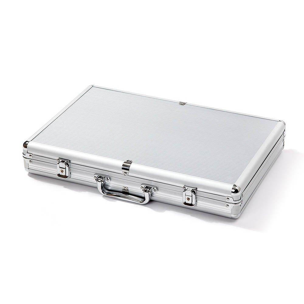 Aluminum poker chip case 750
