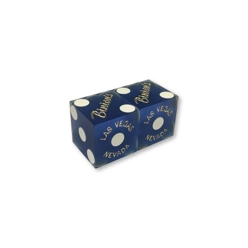 Binions Blue Casino Dice