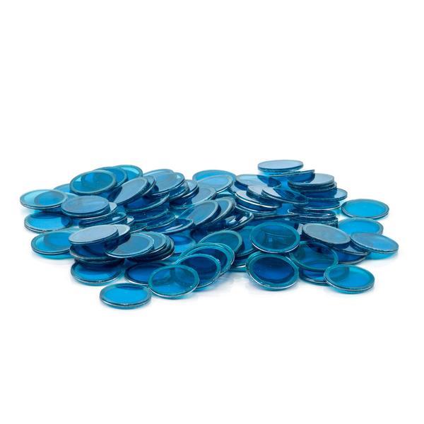 Blue Magnetic Bingo Chips