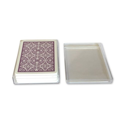 Clear Plastic Playing Card Cases