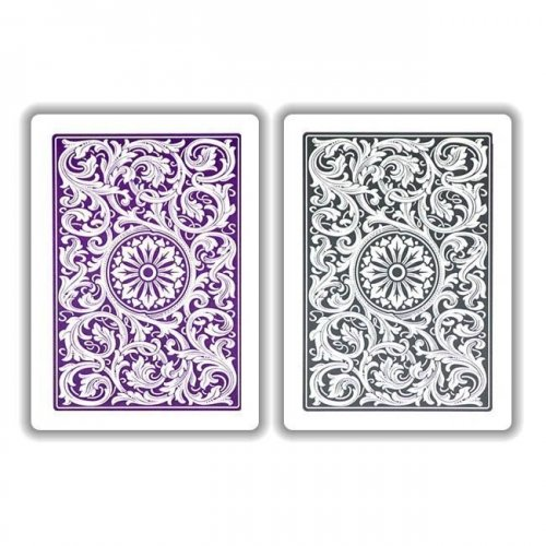 Copag 1546 Purple Gray Plastic Playing Cards