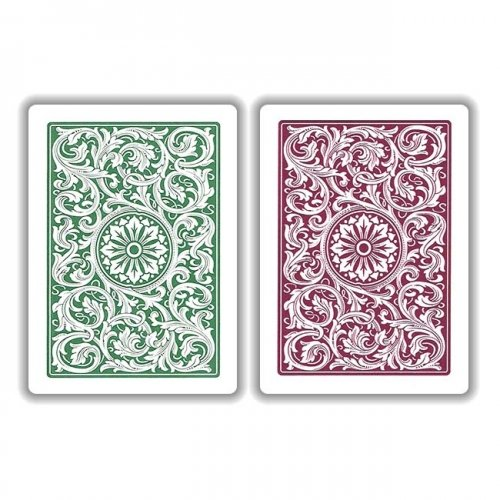 Copag Green Burgundy Playing Cards