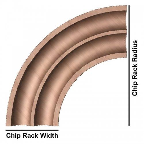 Craps Chip Rail