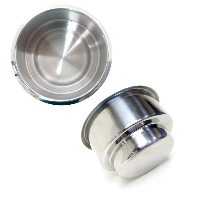 Double Size Stainless Steel Cup Holder