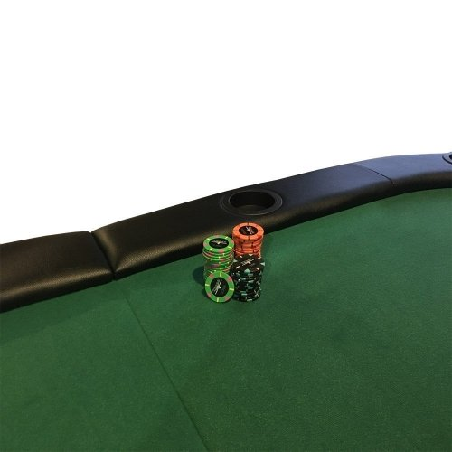 Folding Poker Table 84 Inches