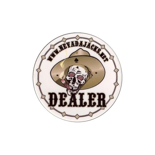 Nevada Jack Dealer Button