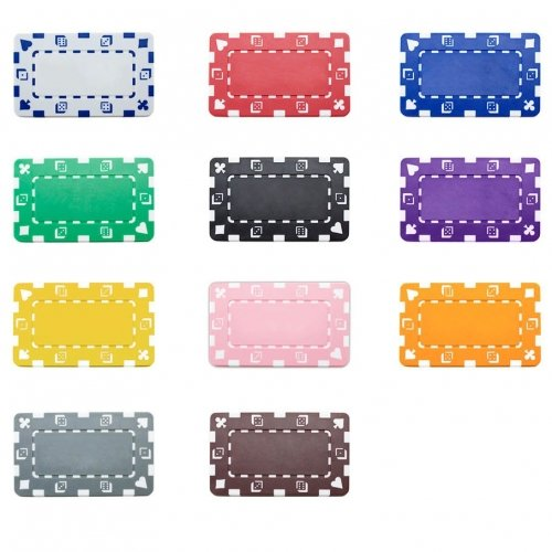 Rectangular Poker Chips