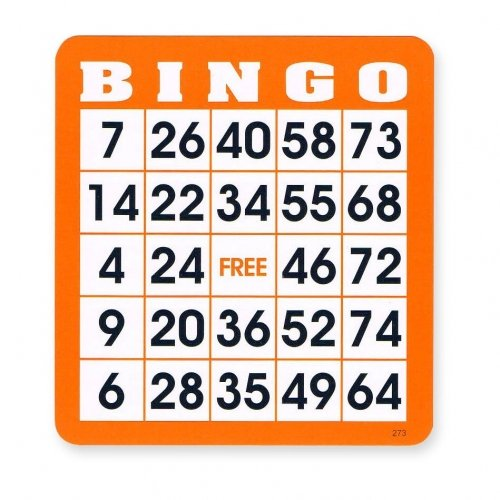 Reusable Bingo Cards