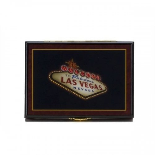 Wood Playing Card Case