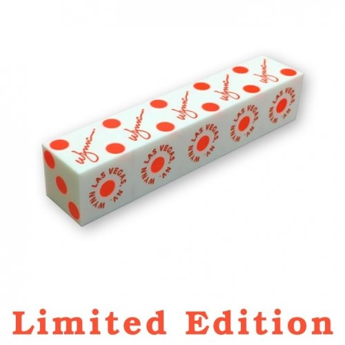 Wynn Casino White Limited Edition Dice