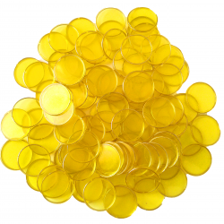 Yellow Bingo Chips